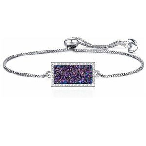 Jewelry - NEW!! Rainbow Druzy Bracelet